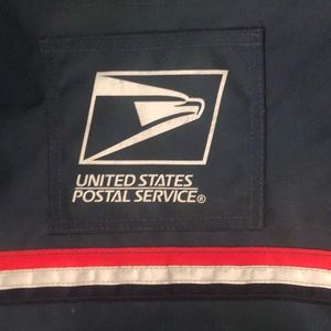 United States postal service carrier's bag